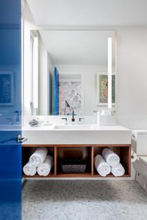 Contemporary Bathroom Contemporain Salle De Bain