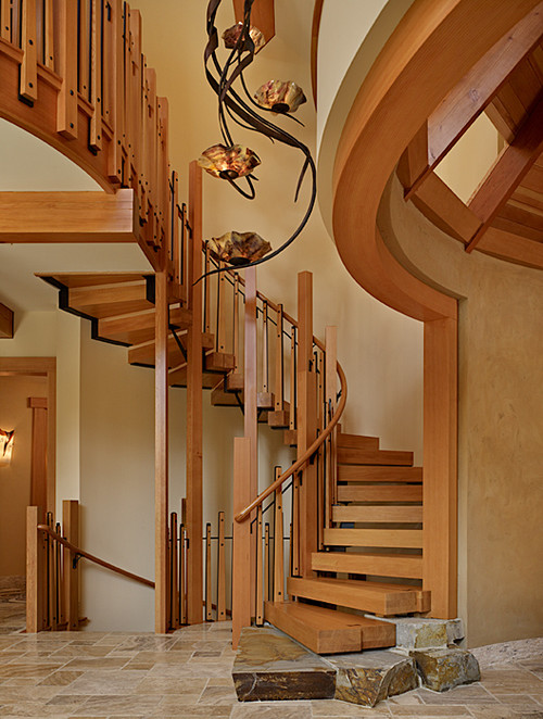 Staircase of Cedar Haven H ome