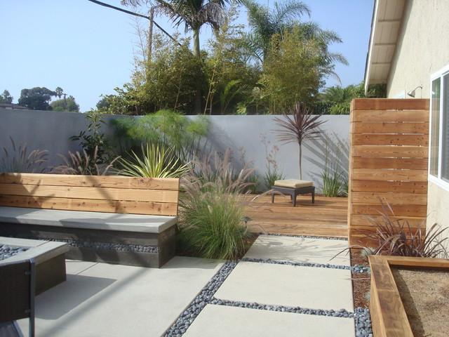 Nathan Smith Landscape Design - Modern - Patio - San Diego ... on Modern Small Patio Ideas id=78112