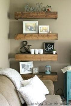 Ideas About Shelves Around Fireplace On Pinterest Bookshelves