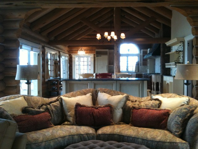 Rustic Design Ideas For Living Rooms Hunting Lodge Room