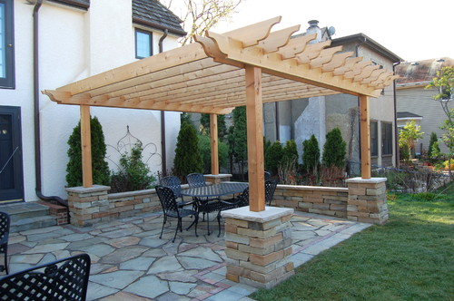 Ideas for a paver patios with a handicap ramp off to the ... on Side Patio Ideas id=98933