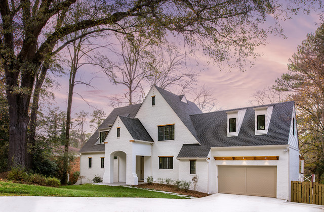Brookhaven New Home transitional-exterior