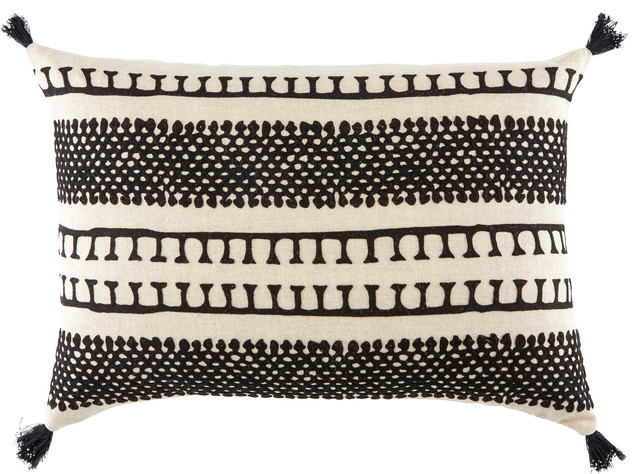 black and cream lumbar pillow online
