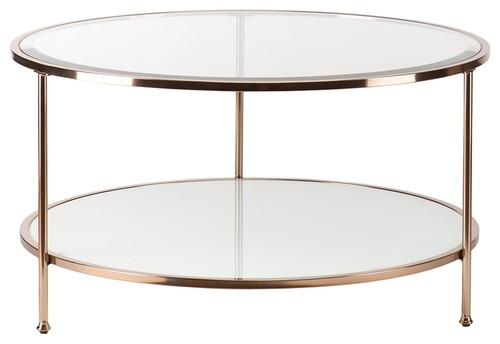 Boston Loft Furnishings Riku Round Cocktail Table
