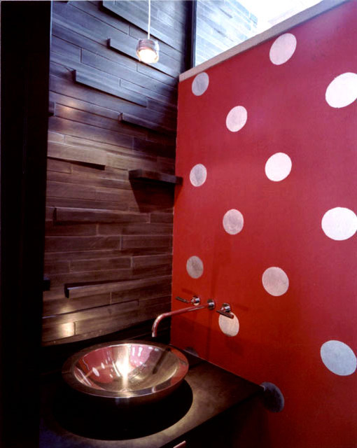 Meriden modern-powder-room