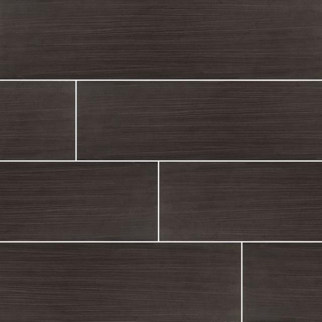 sygma ebony 6x24 matte ceramic tile sample
