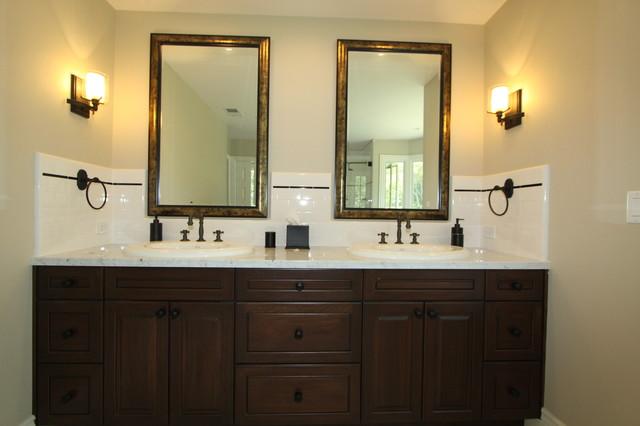 dark vanity cabinet
