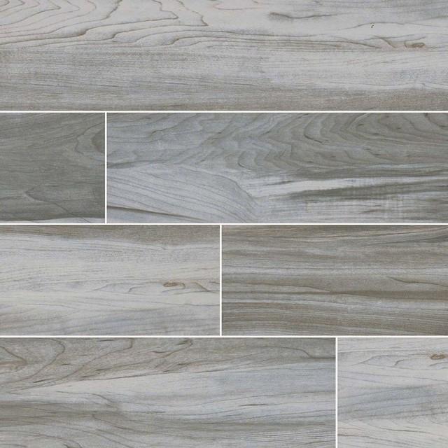 carolina timber white ceramic wood look tile 6 x24 tiles set of 16