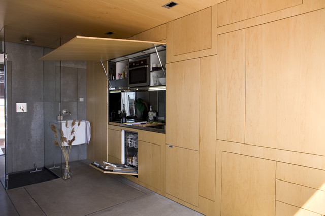 Barcelona House contemporary-kitchen