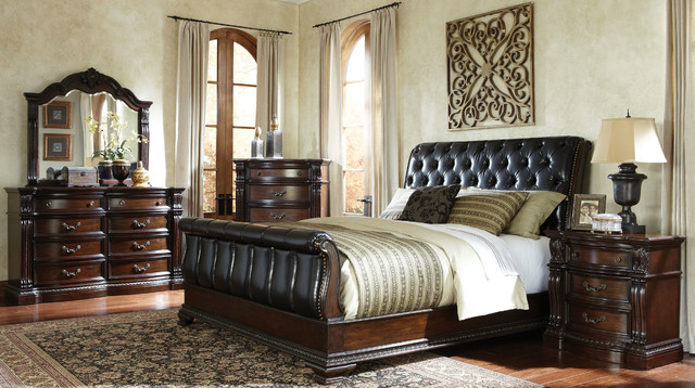 churchill bedroom set - traditional - bedroom - columbus - by