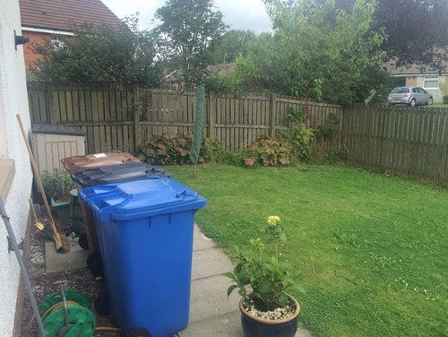 Downward sloping garden on Garden Ideas For Sloping Gardens id=73237