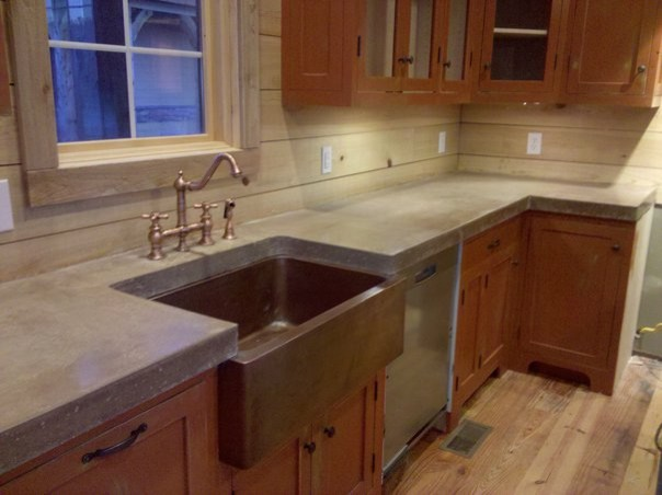 Concrete Countertop Studio Tile Stone Countertops