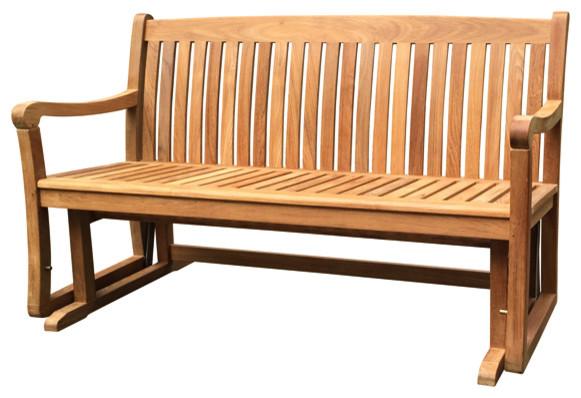 teak gliding bench 5 grade a