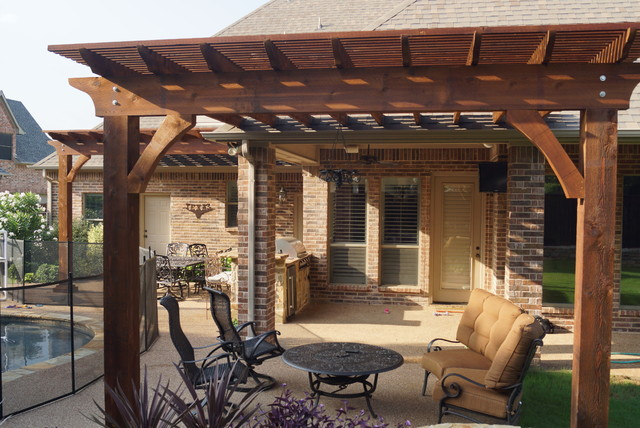Arbor projects, Pergola projects - Traditional - Patio ... on Patio Renovation Ideas id=23388