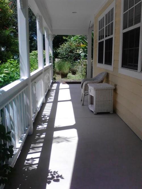 Narrow Front Porch Ideas