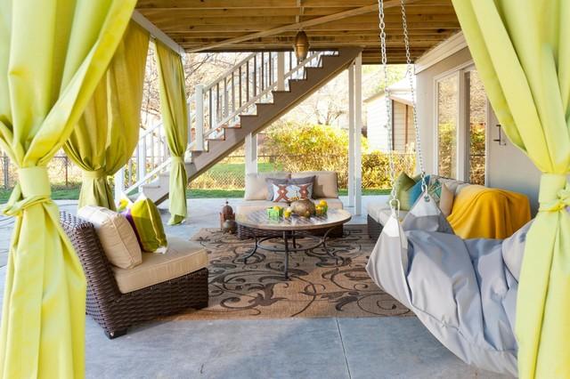 Ruppert Backyard Eclectic Deck New York By The Cousins