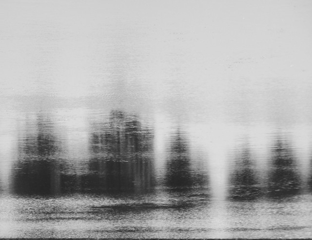 Black And White Water Reflection VIII Photograph On