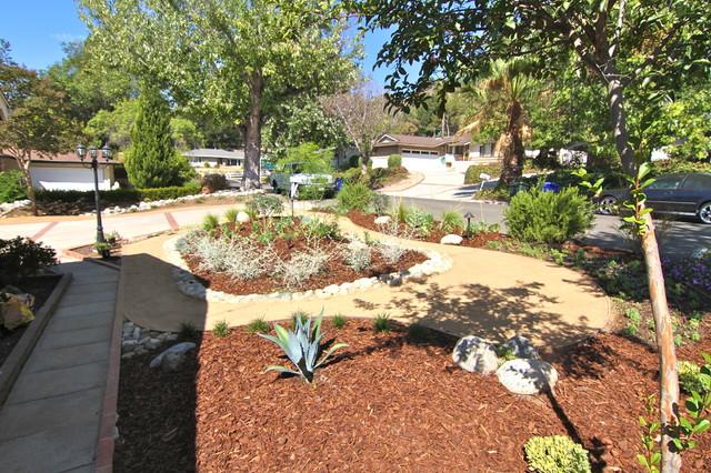 Grassless - Modern - Landscape - Los Angeles - by Dattola ... on Grassless Garden Ideas  id=85163