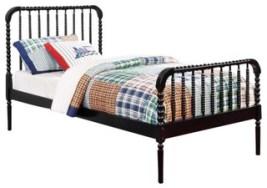 Jenny Lind Twin Size Bed, Black