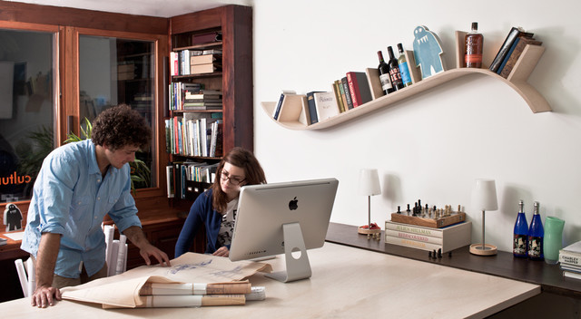 Bookcases And Floating Shelves That Break The Mold