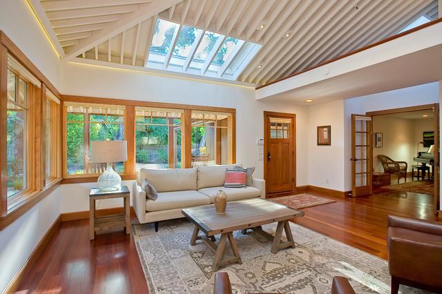 Sonoma / Sea Ranch Redux contemporary-living-room