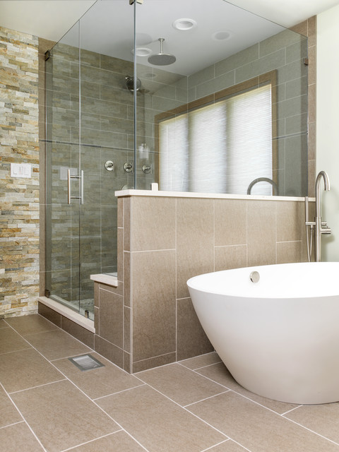Master Shower Amp Freestanding Tub