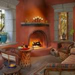 75 Beautiful Southwestern Living Room With A Corner
