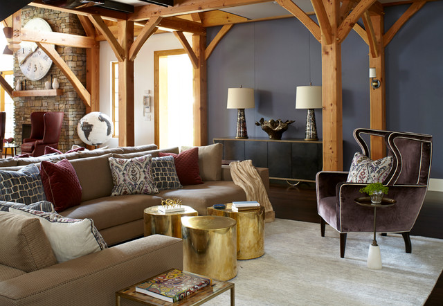 Harding Family Home eclectic-family-room