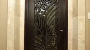 Ornamental Iron Screens For Doors Modern Interior