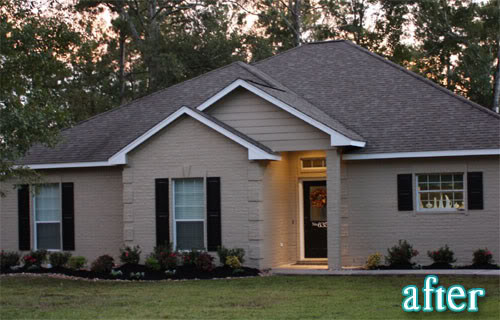 Exterior Brick Paint - Traditional - Exterior on Brick House Painting Ideas  id=26736