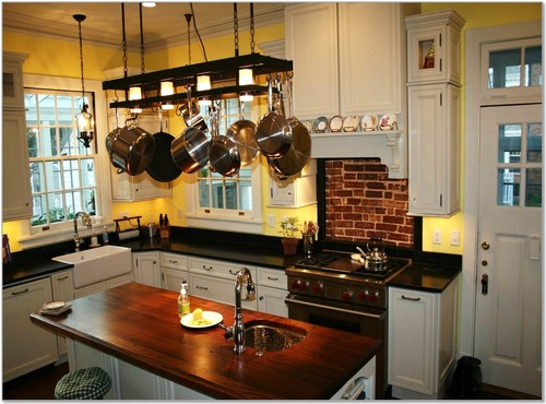 Where Can I Find This Pot Rack Chandelier