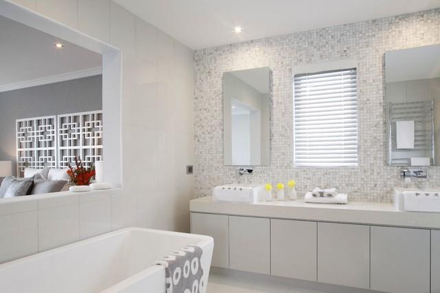 Main Bathroom - Contemporary - Bathroom - Melbourne - by ... on Main Bathroom Ideas  id=39547