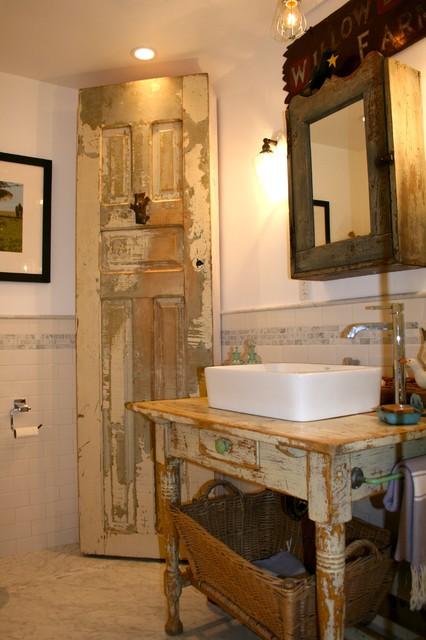 Modern Country Bathroom - Eclectic - Bathroom - Los ... on Rural Bathroom  id=45452