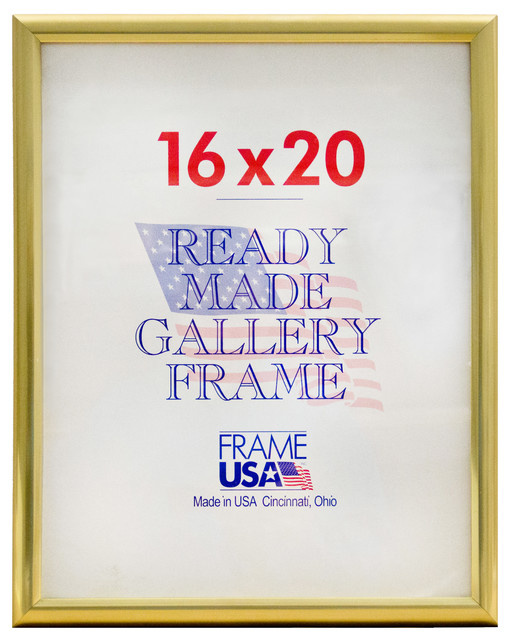 gold deluxe poster frame 16x20