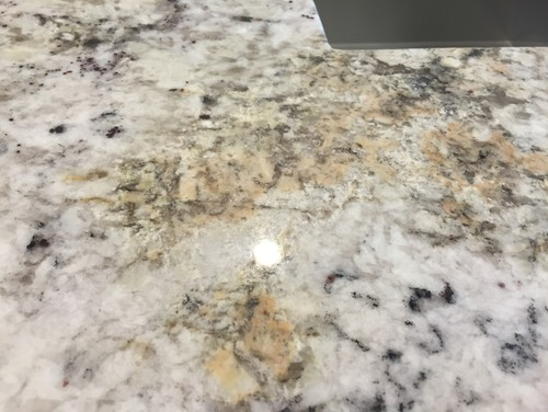 White ice granite has rust stains? on Black Granite Stain  id=24211