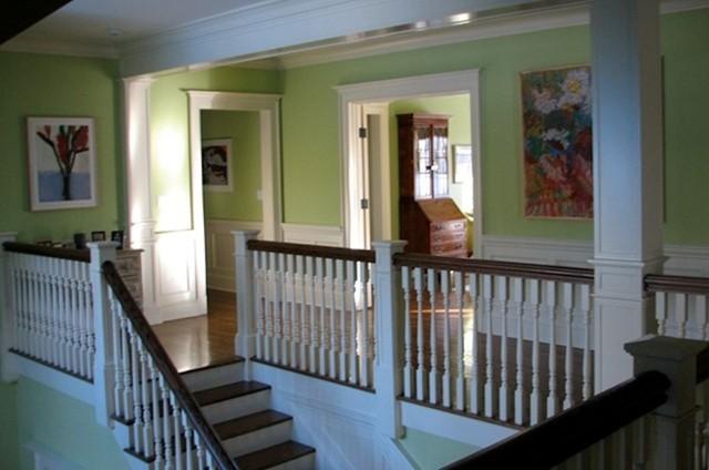 Two Story Foyer Second Floor Hallway
