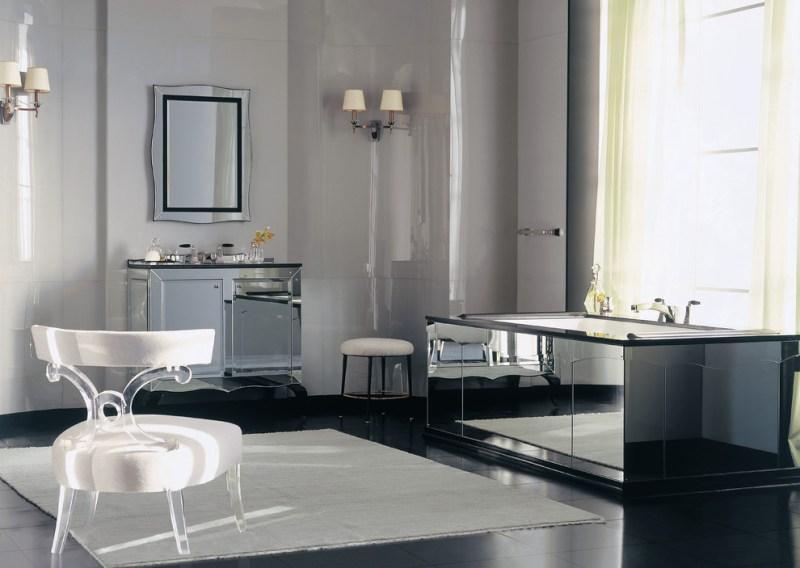 Aranżacja łazienki W Stylu Glamour Inspiracje I Aranżacje