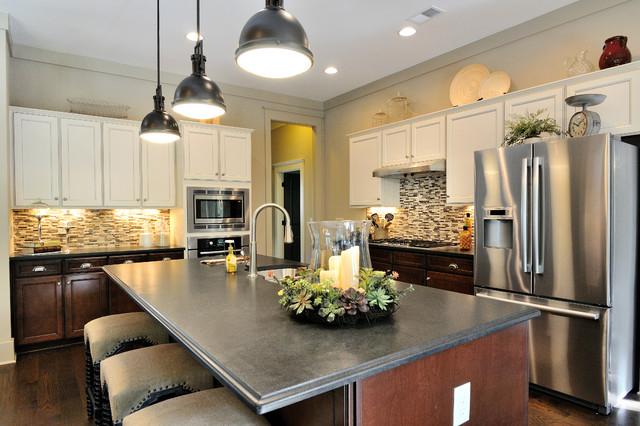 Big Canoe Model Homes - Contemporary - Kitchen - Atlanta ... on Model Kitchen  id=26322