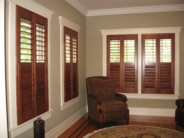 Shutters Wall Inside Window