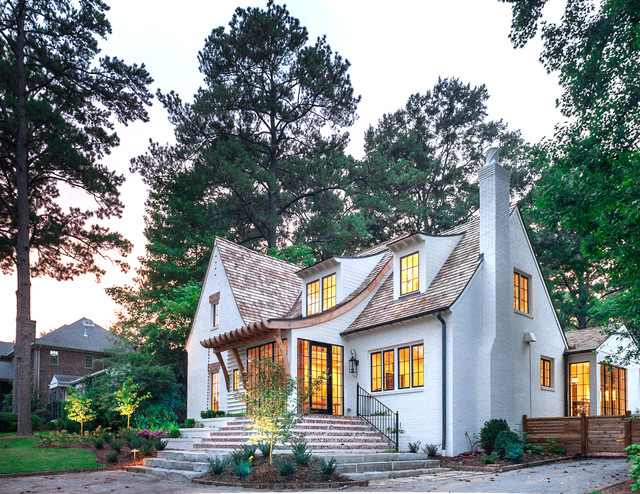 Mountain Brook Cottage traditional-exterior