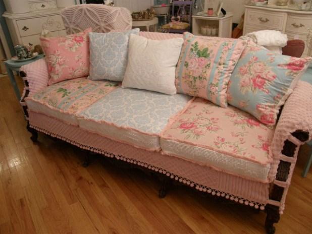 Vintage Shabby Chic Living Room Furniture | Iammyownwife.com