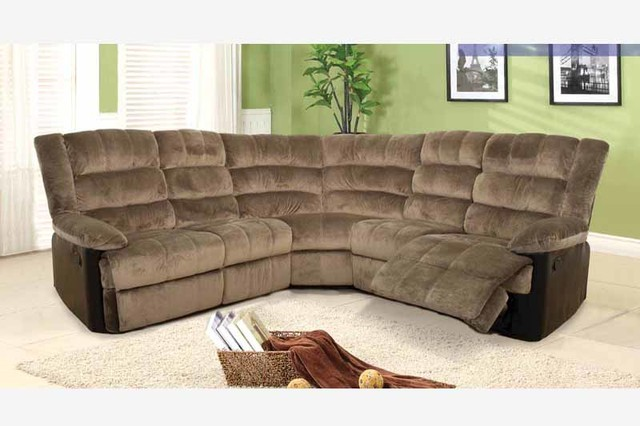 F Coffee Fabric Leather Dual Reclining Sectional Sofa Recliner Corner & leather corner sofa recliner | Nrtradiant.com islam-shia.org