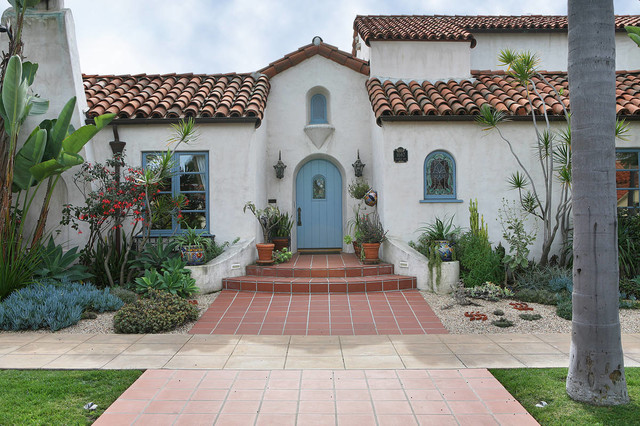 Spanish Revival Master Bath Mediterranean Exterior San Diego By Jackson Design Amp Remodeling