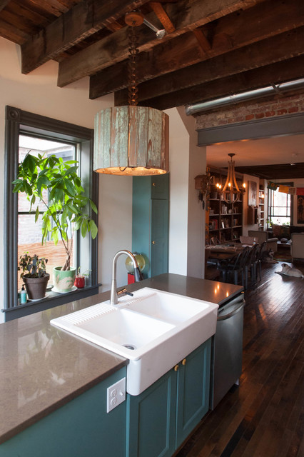 Inspiring Urban Fairy Tale Eclectic Kitchen Philadelphia By Jason Snyder