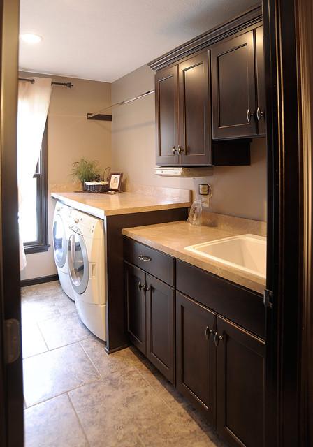 Custom Amish Cabinets on Laundry Cabinets  id=29938