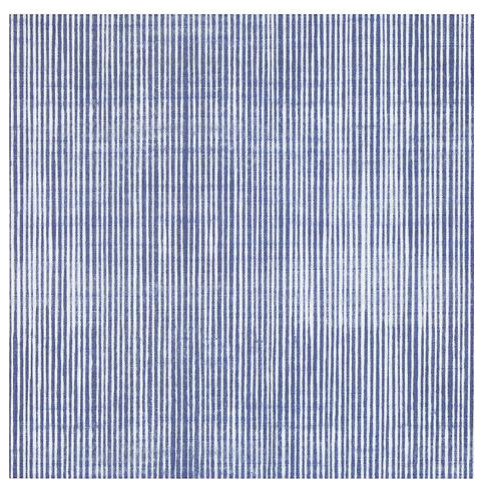 annie selke watercolor lines indigo ceramic wall and floor tile 13 x 13 in