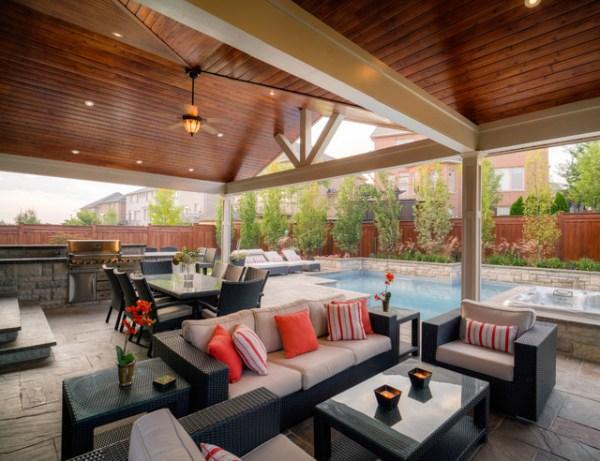 backyard design outdoor patio ideas Presquile Drive Project - Transitional - Patio - Toronto