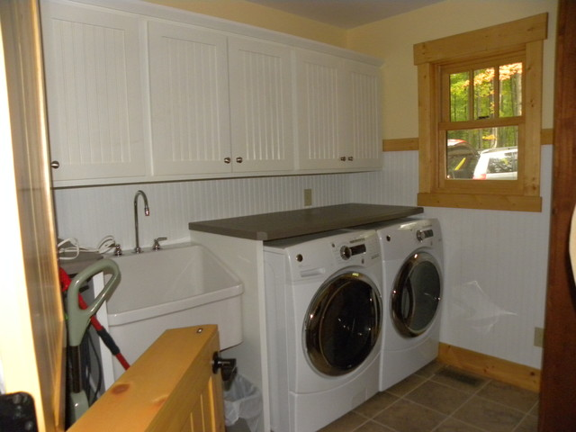 Brand New Folding Counter Above Front Load Washer And Dryer Traditional Qn86