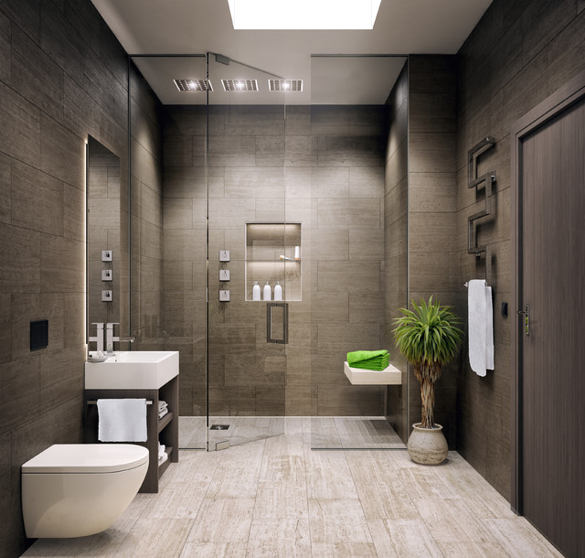 Le Bijou Studio Apartment - Modern - Bathroom - Other - by ...